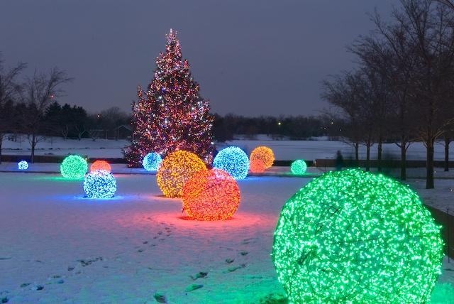 Diy Χριστουγεννιάτικες Φωτό Μπάλες12