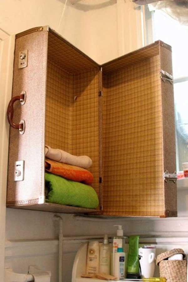DIY ιδέες οργάνωσης για τις πετσέτες του μπάνιου σας.2