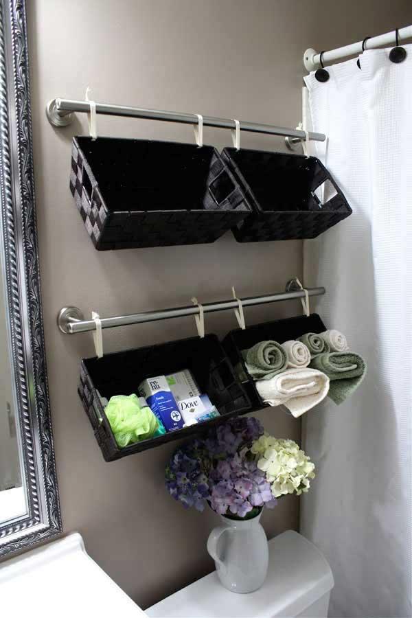 DIY ιδέες οργάνωσης για τις πετσέτες του μπάνιου σας.5