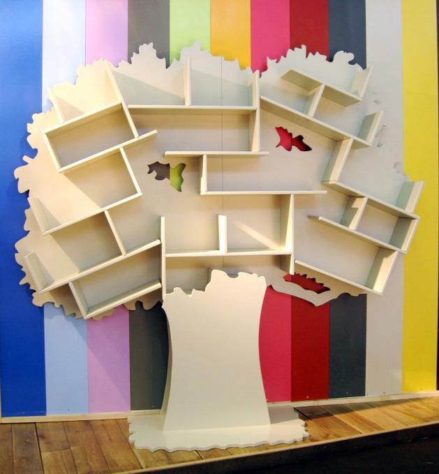 Αξιολάτρευτες Παιδικές Βιβλιοθήκες Δέντρο5