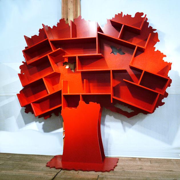 Αξιολάτρευτες Παιδικές Βιβλιοθήκες Δέντρο6