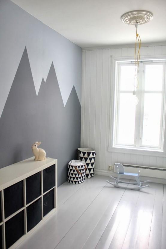 Ιδέες ντεκόρ μαυροπίνακα για παιδικά δωμάτια14