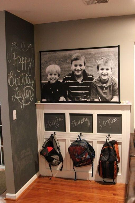 Ιδέες ντεκόρ μαυροπίνακα για παιδικά δωμάτια3