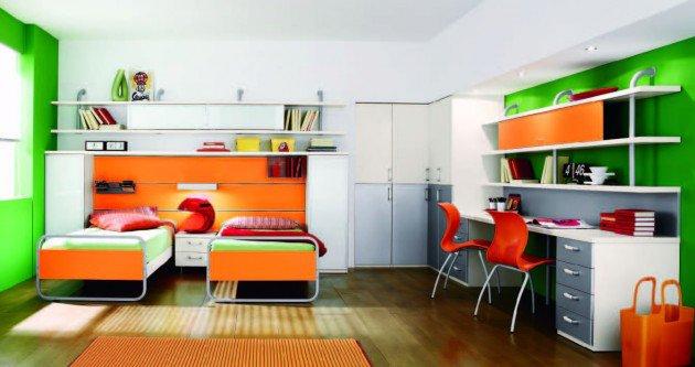 Πολύχρωμες Ιδέες παιδικού  δωματίου 11