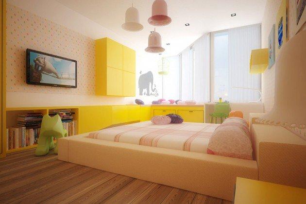 Πολύχρωμες Ιδέες παιδικού  δωματίου 2