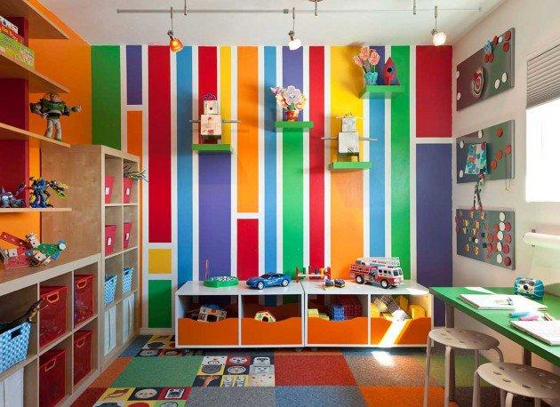 Πολύχρωμες Ιδέες παιδικού  δωματίου 4