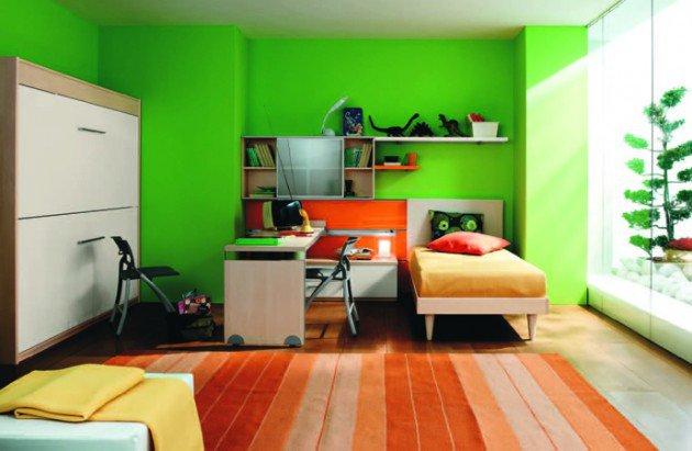 Πολύχρωμες Ιδέες παιδικού  δωματίου 6