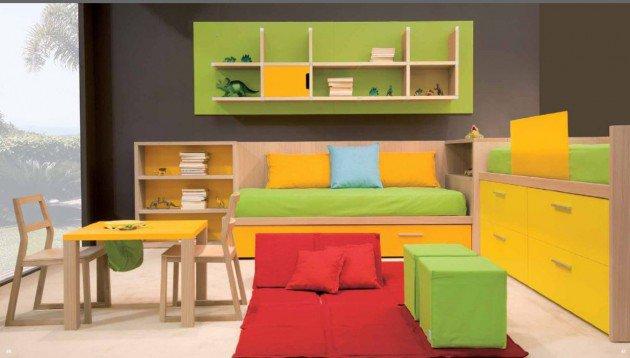Πολύχρωμες Ιδέες παιδικού  δωματίου 7