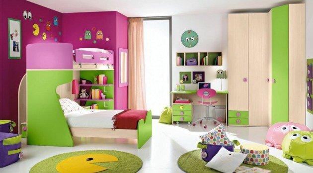 Πολύχρωμες Ιδέες παιδικού  δωματίου 9