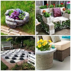 DIY έργα βελτίωσης της αυλής και του κήπου