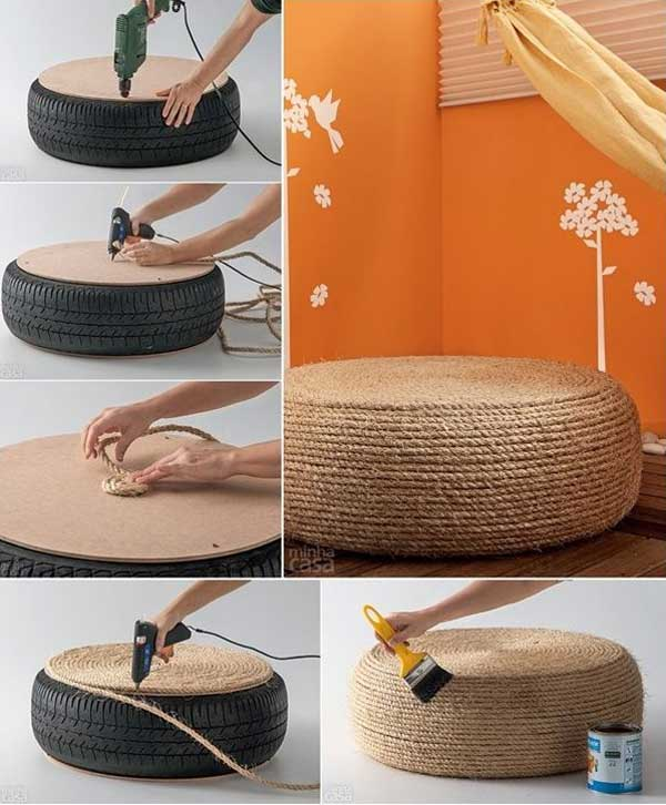 Diy ideas with pouf10