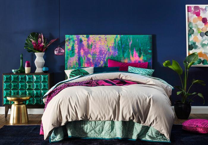 Κομψοί συνδυασμοί χρωμάτων για την κρεβατοκάμαρά10