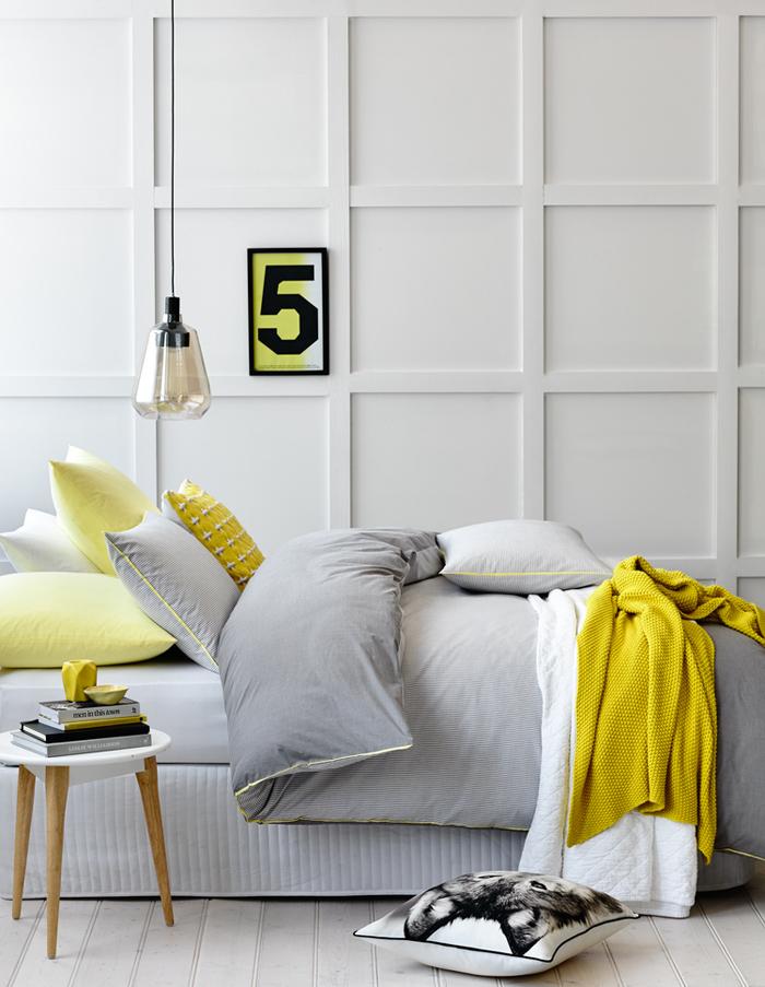Κομψοί συνδυασμοί χρωμάτων για την κρεβατοκάμαρά4