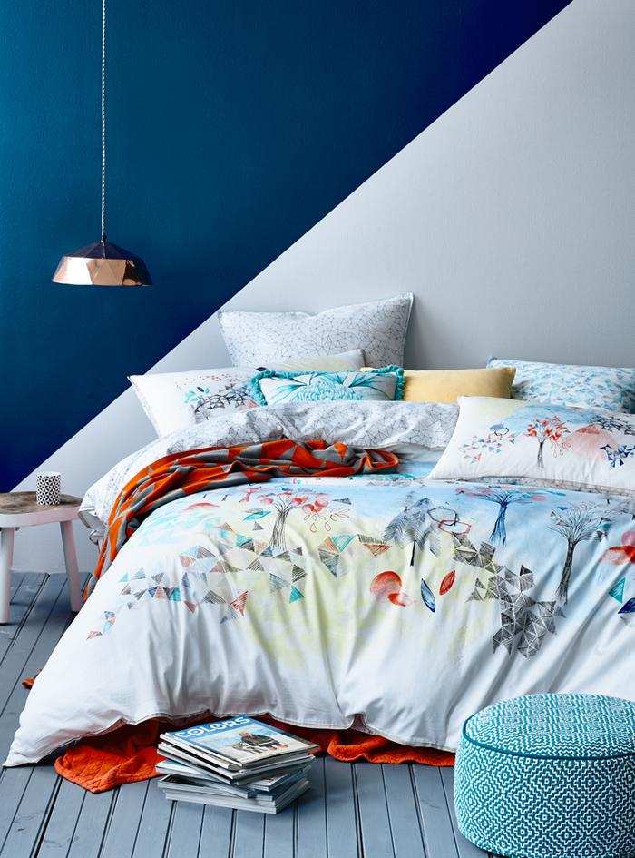 Κομψοί συνδυασμοί χρωμάτων για την κρεβατοκάμαρά6