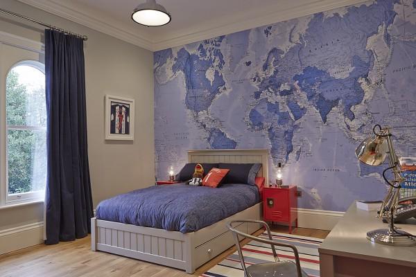 Ένας εκπαιδευτικός, δροσερός και εντυπωσιακός τρόπος για να διακοσμήσετε το δωμάτιο του παιδιού σας