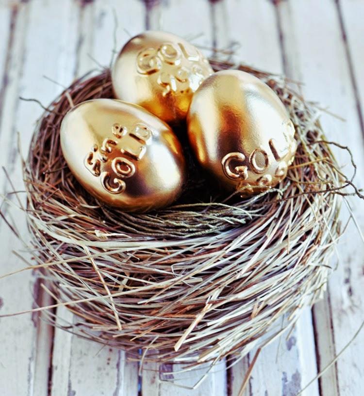 μοντέρνες ιδέες για Πασχαλινά αυγά3