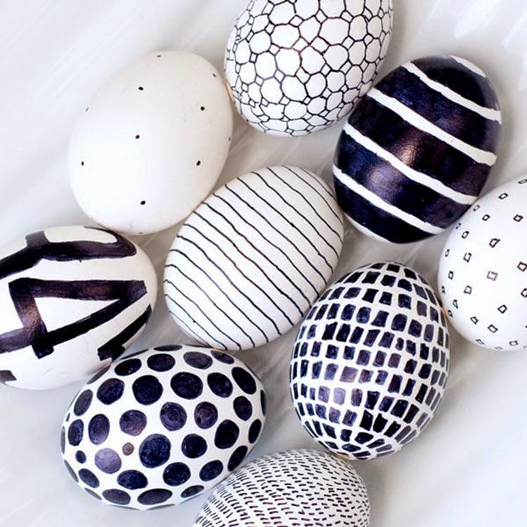 μοντέρνες ιδέες για Πασχαλινά αυγά4