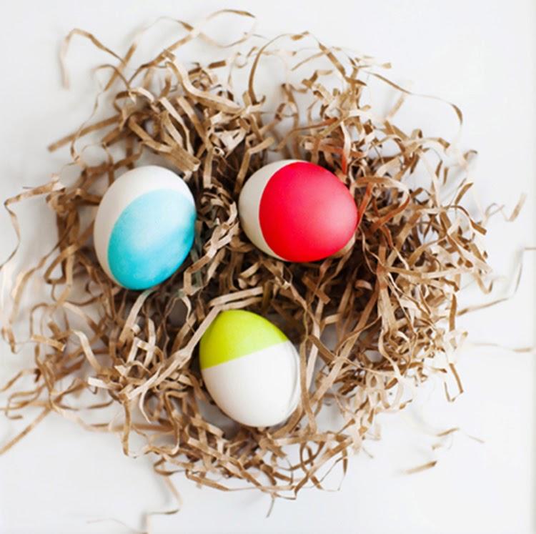 μοντέρνες ιδέες για Πασχαλινά αυγά9