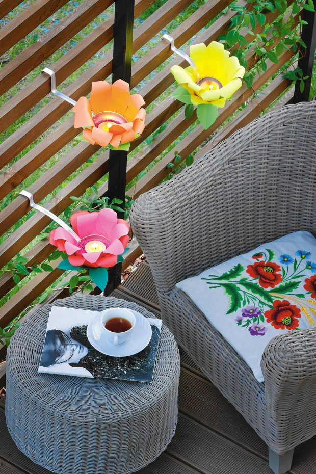 DIY έργα για να ομορφύνετε τον κήπο σας1