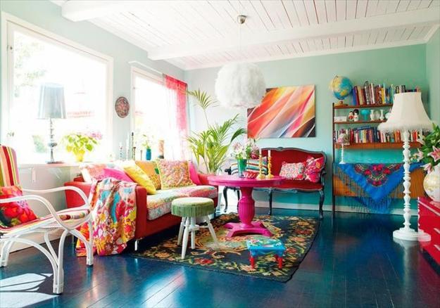 Ιδέες με μοντέρνα και φωτεινά χρώματα 10