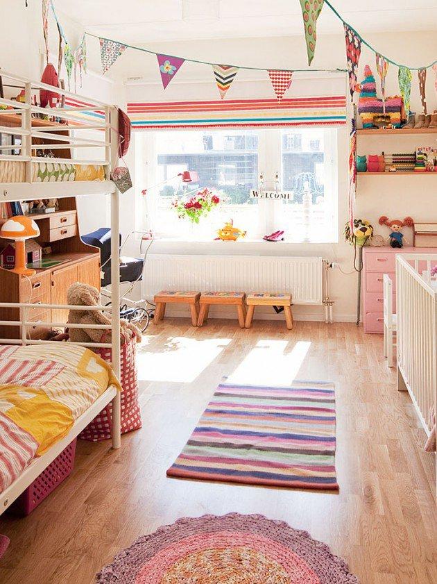 Συναρπαστικά σκανδιναβικά παιδικά δωμάτια2