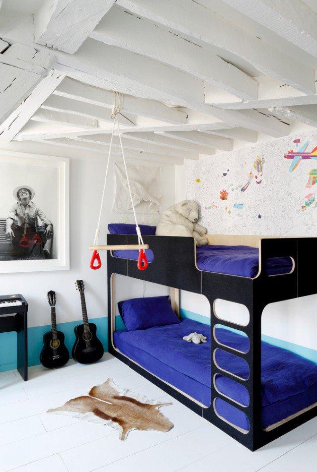 Συναρπαστικά σκανδιναβικά παιδικά δωμάτια4