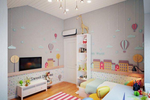Συναρπαστικά σκανδιναβικά παιδικά δωμάτια5