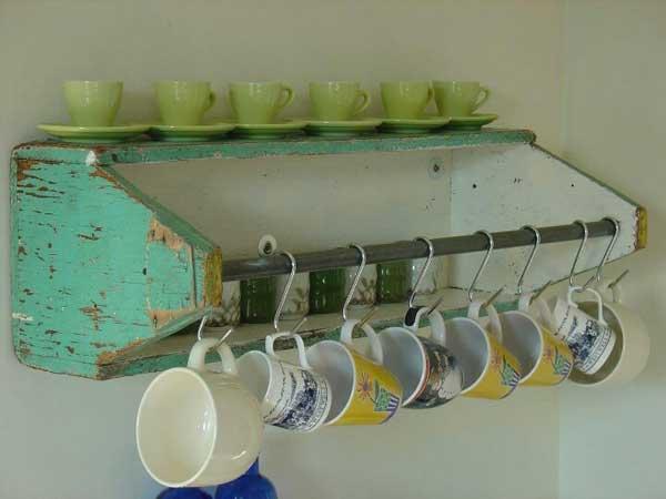 DIY ιδέες αποθήκευσης για τις κούπες του καφέ14