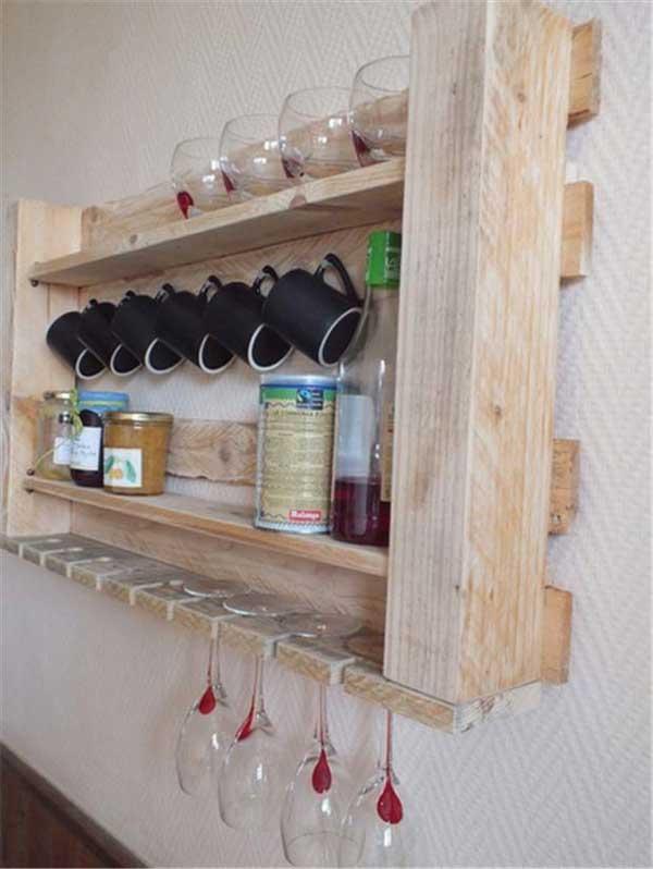 DIY ιδέες αποθήκευσης για τις κούπες του καφέ9