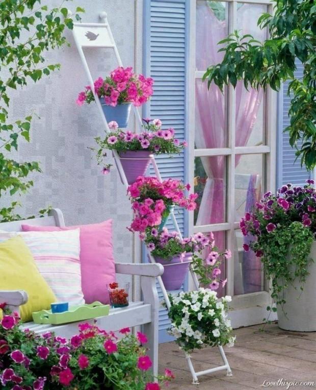 Απίστευτα Ελκυστικές Ιδέες που μπορείτε να εφαρμόσετε στον κήπο σας10