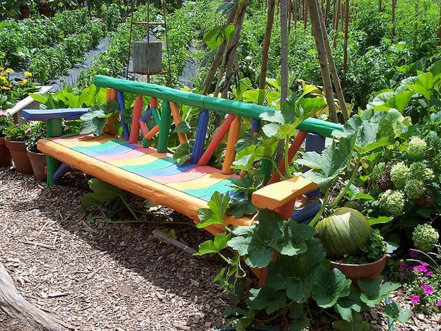 Απίστευτα Ελκυστικές Ιδέες που μπορείτε να εφαρμόσετε στον κήπο σας11