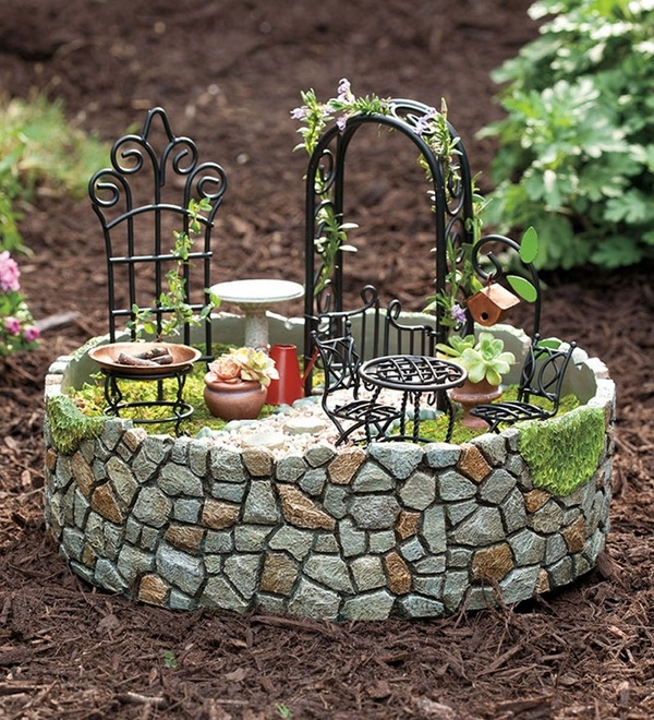 Απίστευτα Ελκυστικές Ιδέες που μπορείτε να εφαρμόσετε στον κήπο σας12