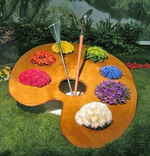Απίστευτα Ελκυστικές Ιδέες που μπορείτε να εφαρμόσετε στον κήπο σας8