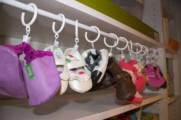 Δημιουργικοί τρόποι για να αποθηκεύσετε παπούτσια8
