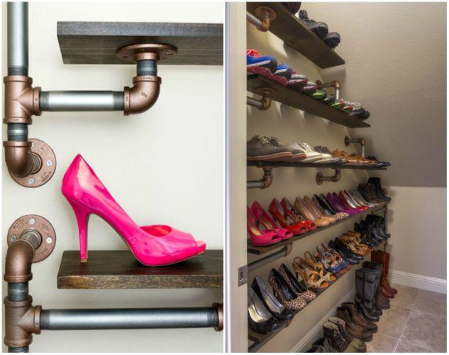 Δημιουργικοί τρόποι για να αποθηκεύσετε παπούτσια9