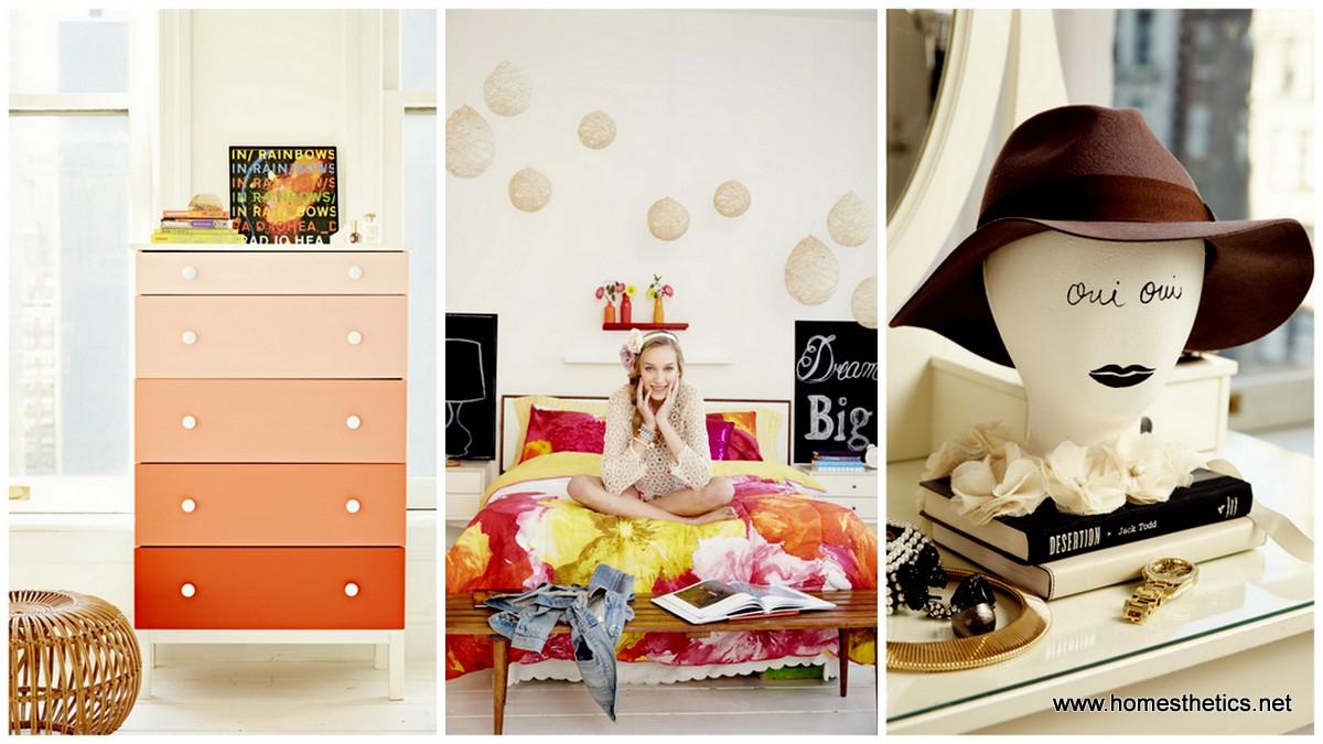 10 Ιδέες για υπέροχο κοριτσίστικο Diy ντεκόρ δωματίων
