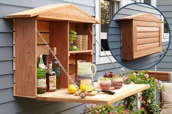 DIY λύσεις αποθηκευτικού χώρου για την αυλή και τον κήπο σας14