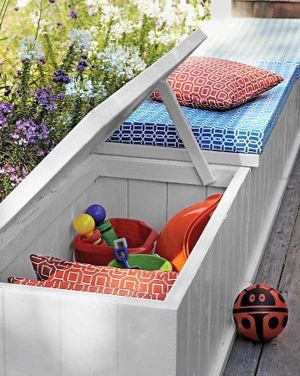 DIY λύσεις αποθηκευτικού χώρου για την αυλή και τον κήπο σας6
