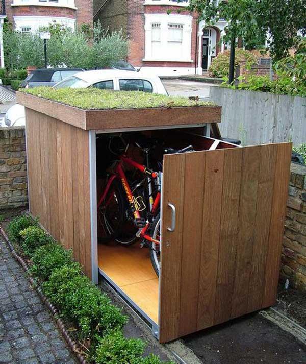 DIY λύσεις αποθηκευτικού χώρου για την αυλή και τον κήπο σας7