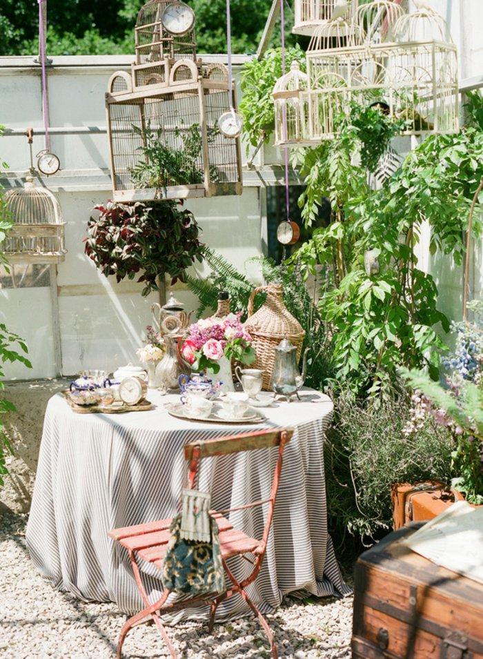 vintage διακόσμηση κήπου11
