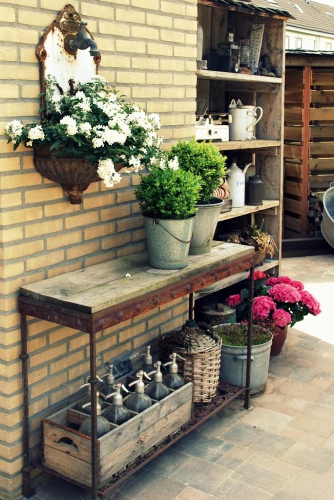 vintage διακόσμηση κήπου14