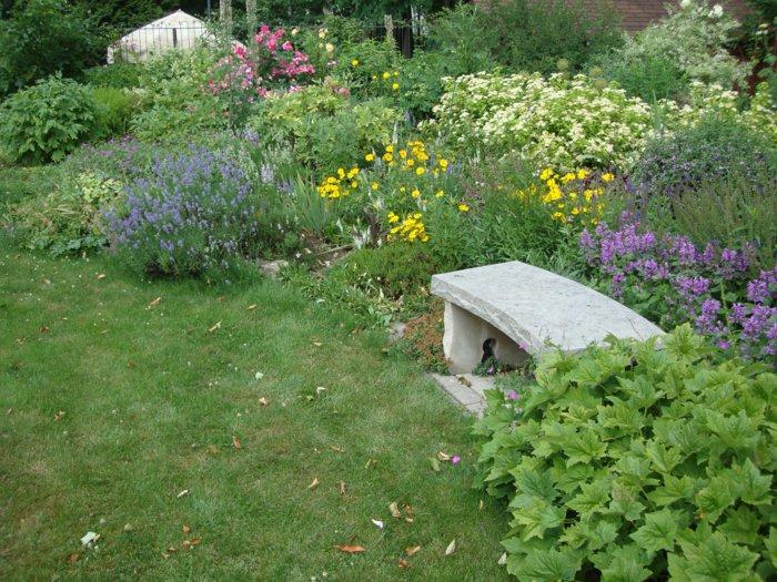 Ρουστίκ παγκάκια κήπων9