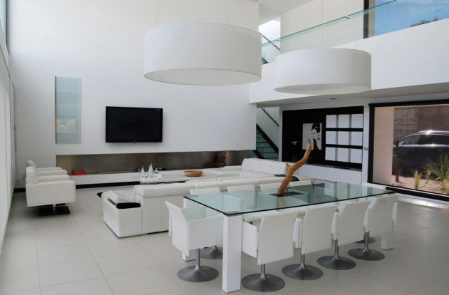 Ιδέες Σχεδιασμού  Σαλονιού  σε Άσπρο & Μαύρο10