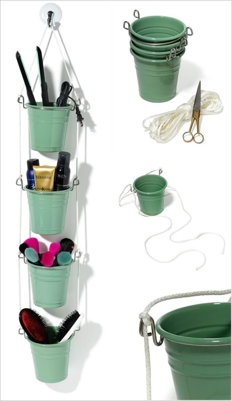 Ιδέες για να δημιουργήστε χώρο αποθήκευσης στον τοίχο του μπάνιου σας4