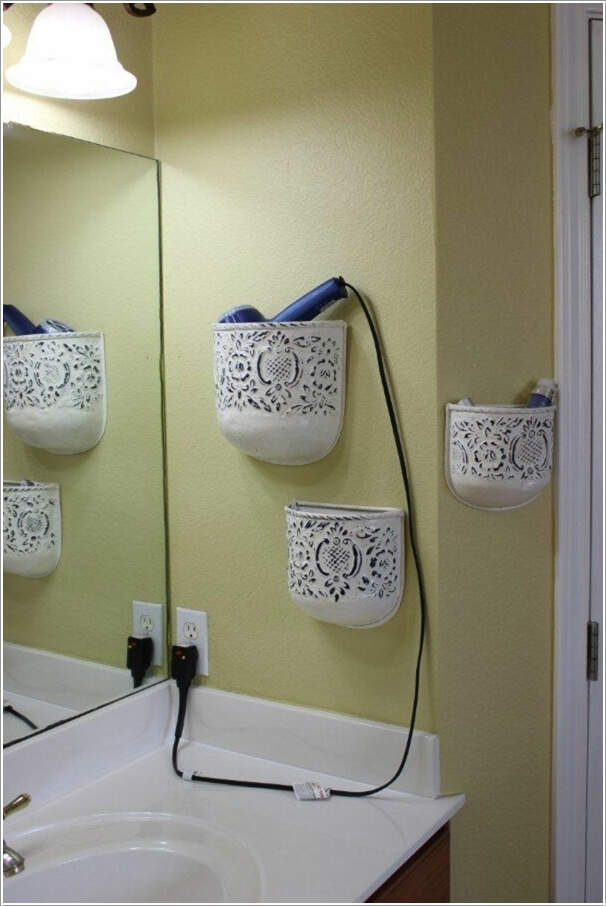 Ιδέες για να δημιουργήστε χώρο αποθήκευσης στον τοίχο του μπάνιου σας5