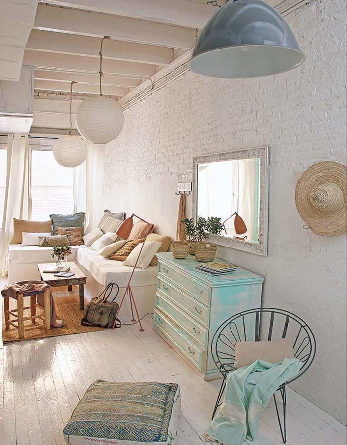 Vintage τόνοι και παστέλ χρώματα σε ένα απίθανο σπίτι στη Βαρκελώνη4