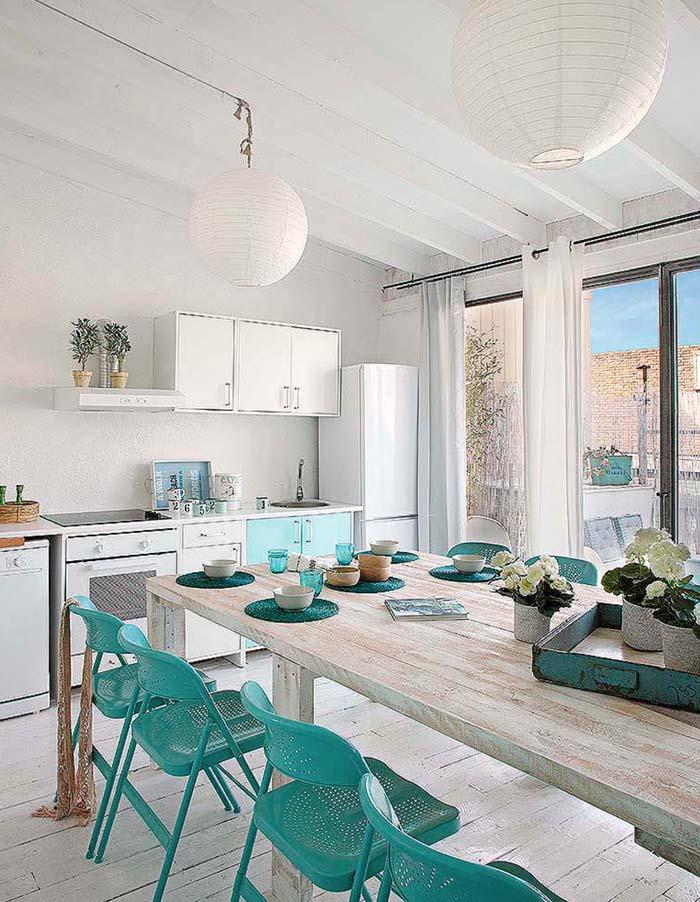 Vintage τόνοι και παστέλ χρώματα σε ένα απίθανο σπίτι στη Βαρκελώνη8