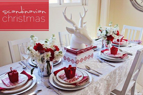 διακοσμήσεις Χριστουγεννιάτικων τραπεζιών11