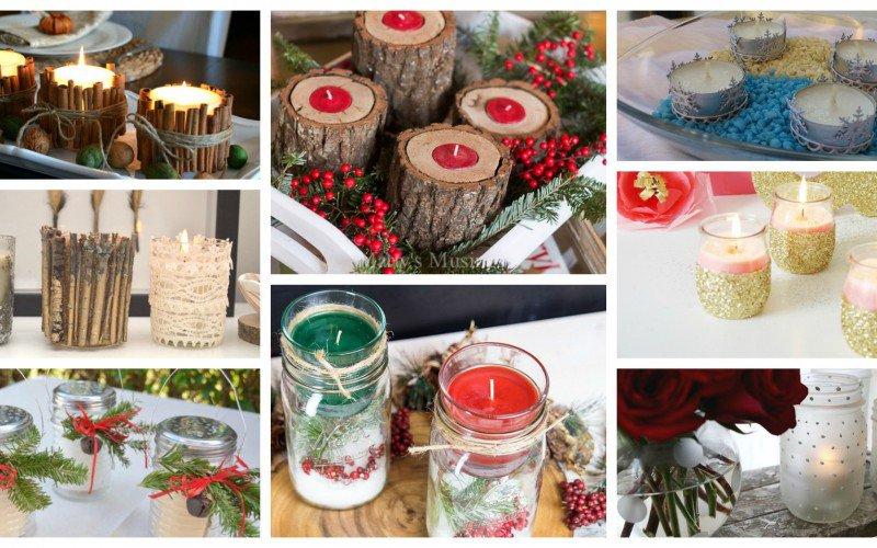 15 Υπέροχα κηροπήγια για τα Χριστούγεννα που μπορείτε εύκολα να κάνετε μόνοι σας