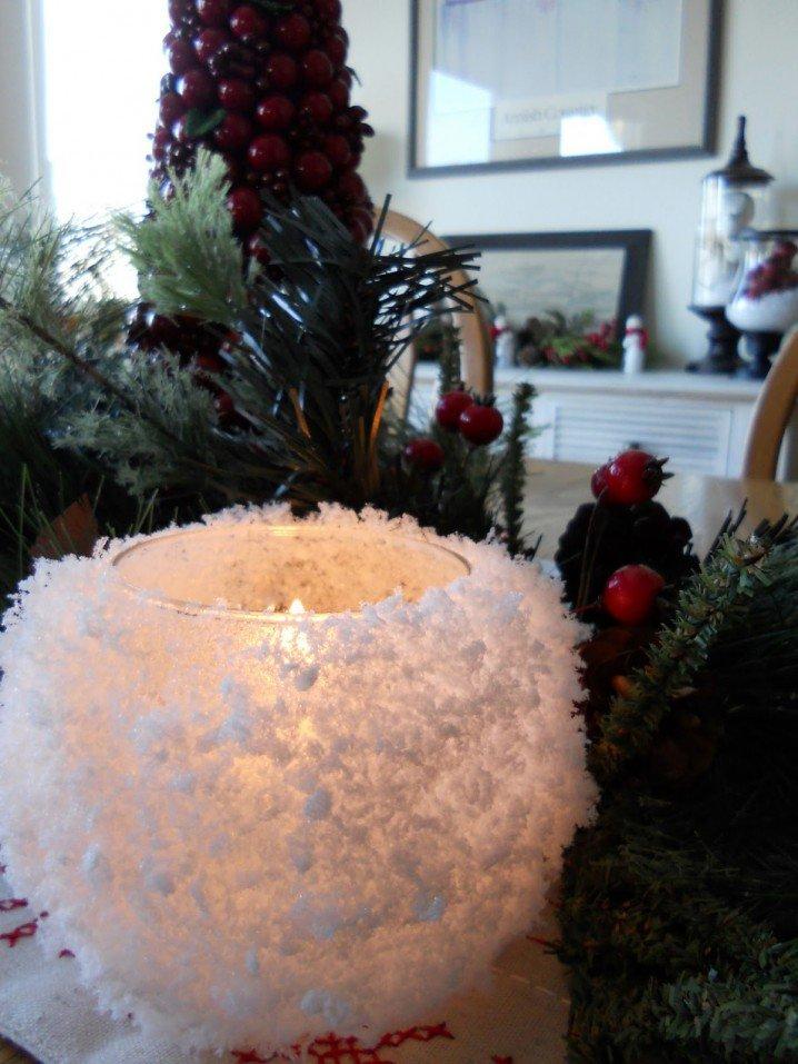 Diy κηροπήγια για τα Χριστούγεννα1